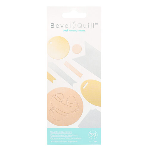 We R Memory Keepers - Bevel Quill - Bevel Board Ephemera