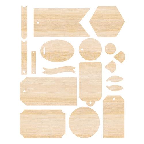 We R Memory Keepers - Singe Quill - Wood Veneer Ephemera