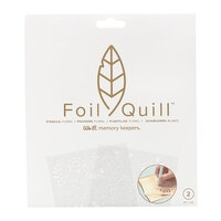 We R Memory Keepers - Foil Quill - Freestyle - Stencils - Floral