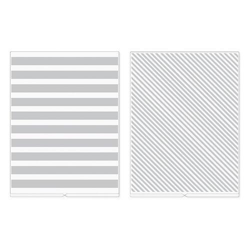 We R Memory Keepers - Revolution - Embossing Folder - Stripes