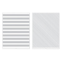 We R Memory Keepers - Revolution - Embossing Folder - Stripes