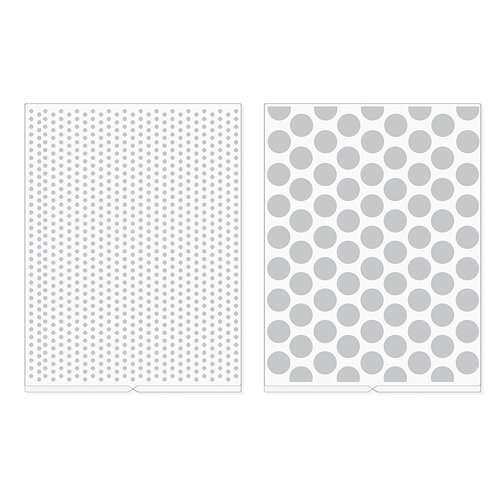 WE R MEMORY KEEPERS. SHIMELLE embossing Folders REVOLUTION Ready to Ship