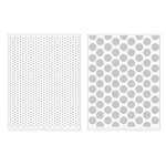 We R Memory Keepers - Revolution - Embossing Folder - Dots