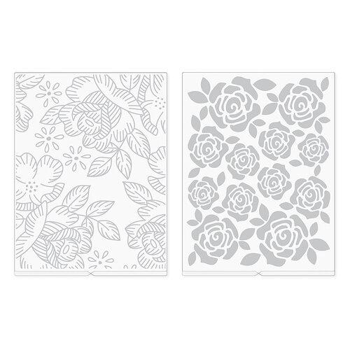 We R Memory Keepers - Revolution - Embossing Folder - Florals