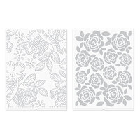 We R Memory Keepers - Revolution - Embossing Folder - Florals