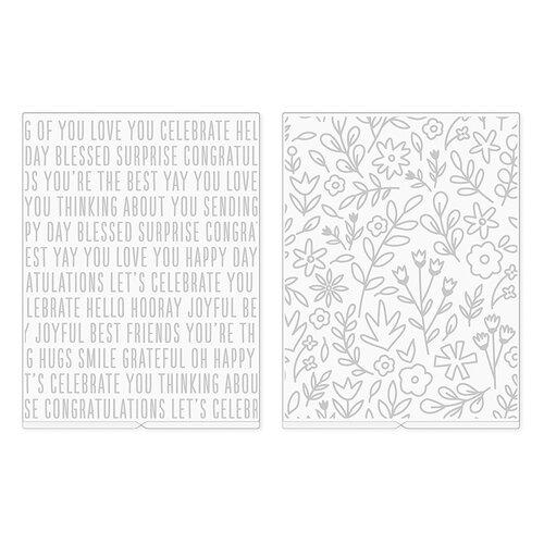We R Memory Keepers - Revolution - Jen Hadfield - Embossing Folder