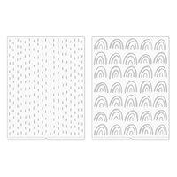 We R Memory Keepers - Revolution - Amy Tangerine - Embossing Folder