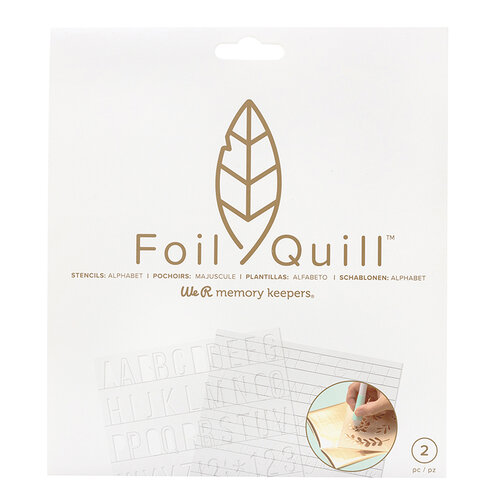 We R Memory Keepers - Foil Quill - Freestyle - Stencils - Basics