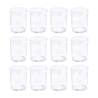 We R Memory Keepers - Storage Bottles - Snap Lid Jars - 12 Pack