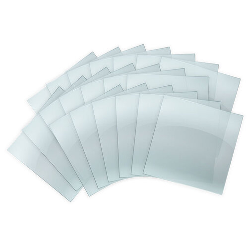 We R Memory Keepers - Mold Press Collection - Plastic Sheets - Clear - 40 Pack