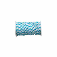 We R Memory Keepers - Happy Jig - Wire Baker's Twine - Blue - 3 Yards