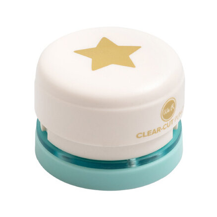 We R Memory Keepers - 1 Inch Clear-Cut Punches - Star
