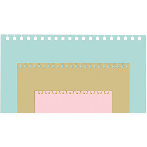 We R Memory Keepers - Planner Punch Board - Spiral Punch Inserts