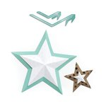 We R Memory Keepers - Template Studio - Template - Star