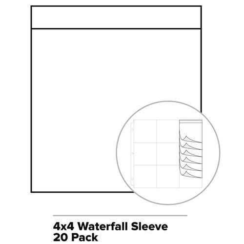 We R Memory Keepers - Photo Sleeve Fuse - Photo Sleeves - 4 x 4 - Waterfall