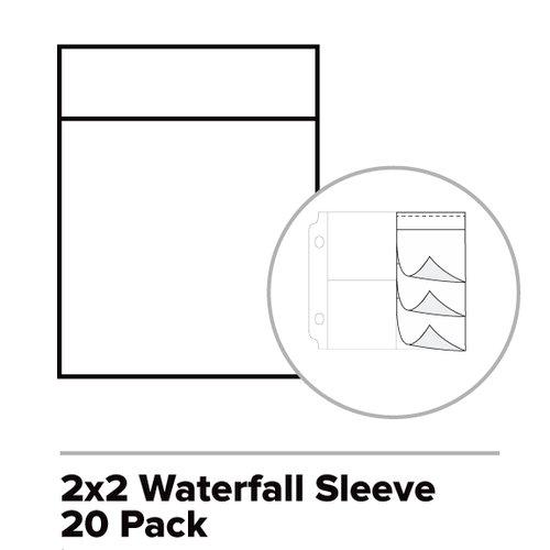 We R Memory Keepers - Photo Sleeve Fuse - Photo Sleeves - 2 x 2 - Waterfall