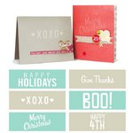 We R Memory Keepers - Embossing Strips - Phrases - Holiday