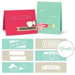 We R Memory Keepers - True Stories Collection - Embossing Strips - Phrases