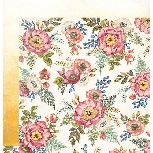 We R Memory Keepers - Wildflower Collection - 12 x 12 Double Sided Paper - Wildflower