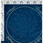 We R Memory Keepers - Wildflower Collection - 12 x 12 Double Sided Paper - Stargazing