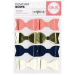 We R Memory Keepers - Wildflower Collection - Pleather Bows