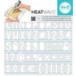 We R Memory Keepers - Heatwave Stencils - Sans Serif