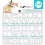 We R Memory Keepers - Heatwave Stencils - Serif