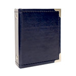 We R Memory Keepers - Instax Albums - 2.1 x 3.4 - Two Ring Album - Navy