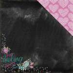 We R Memory Keepers - Hello Darling Collection - 12 x 12 Double Sided Paper - Hello Darling