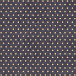 We R Memory Keepers - Denim Blues Collection - 12 x 12 Double Sided Paper - Yellow Dot