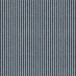 We R Memory Keepers - Denim Blues Collection - 12 x 12 Double Sided Paper - Mint Stripe