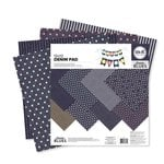 We R Memory Keepers - Denim Blues Collection - 12 x 12 Paper Pad