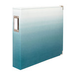 We R Memory Keepers - Album - 12 x 12 D-Ring - Ombre Aqua