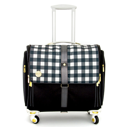 We r memory keepers 360 crafter 39 s bag fold up plaid for We r memory keepers craft bag