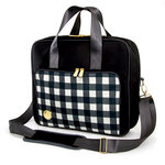We R Memory Keepers - 360 Crafter's Bag - Shoulder Bag - Plaid Black