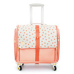 We R Memory Keepers - 360 Crafter's Bag - Fold-Up - Dot Blush