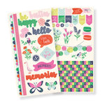 We R Memory Keepers - Flower Girl Collection - Cardstock Stickers