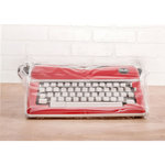 We R Memory Keepers - Typecast Collection - Typewriter Cover - Clear
