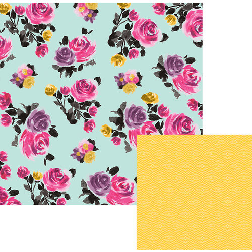 We R Memory Keepers - Urban Chic Collection - 12 x 12 Double Sided Paper - English Garden
