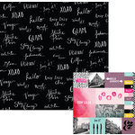 We R Memory Keepers - Urban Chic Collection - 12 x 12 Double Sided Paper - Tres Tres Chic