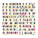 We R Memory Keepers - Urban Chic Collection - Thickers - Alphabet