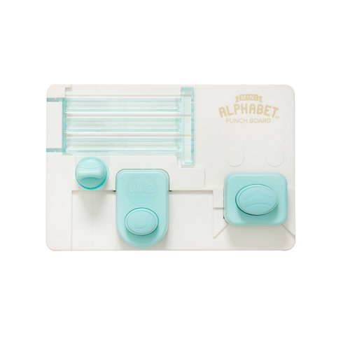 We R Memory Keepers - Alphabet Punch Board - Mini