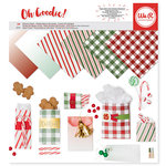 We R Memory Keepers - Oh Goodie Collection - Christmas - 12 x 12 Paper Pad - Glassine Holiday