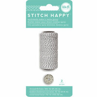 We R Memory Keepers - Stitch Happy Collection - Thread - Bakers Twine - Gray
