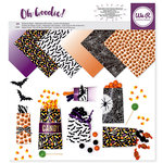 We R Memory Keepers - Oh Goodie Collection - 12 x 12 Paper Pad - Glassine Halloween