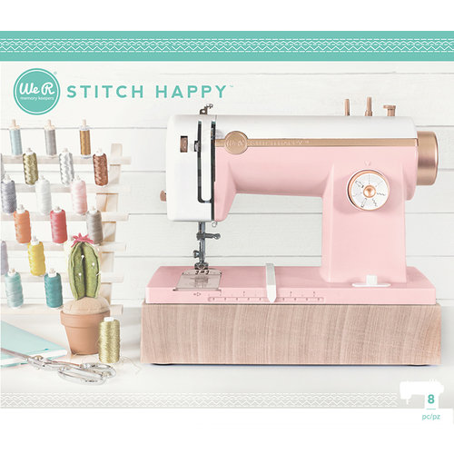 We R Memory Keepers - Stitch Happy Collection - Sewing Machine - Pink