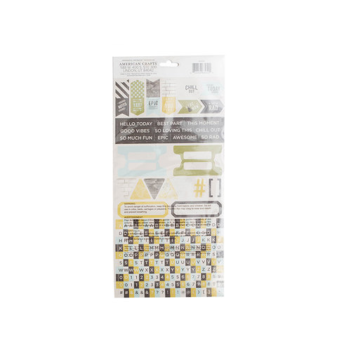 We R Memory Keepers - High Five Collection - Cardstock Stickers