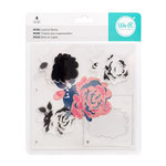 We R Memory Keepers - Layered Stamps - Rose