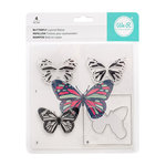 We R Memory Keepers - Layered Stamps - Butterfly