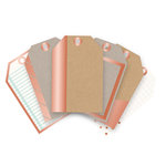 We R Memory Keepers - Typecast Collection - Mini Tags - Copper Foil